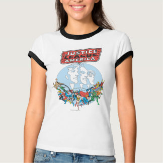 Justice League of America Group Tee Shirt