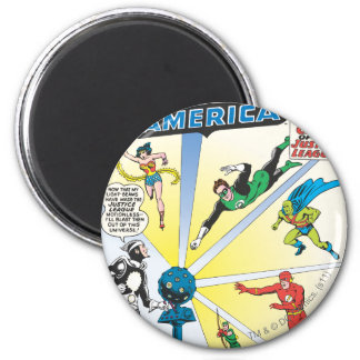 Justice League of America Issue #12 - June Magnets