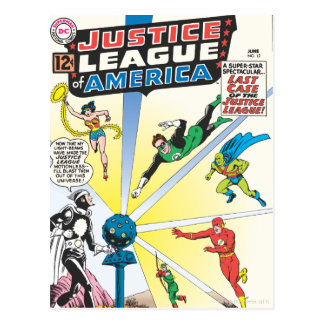 Justice League of America Issue #12 - June Postcard