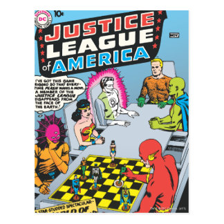 Justice League of America Issue #1 - Nov Postcard