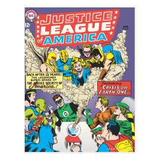 Justice League of America Issue #21 - Aug Postcard
