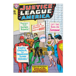 Justice League of America Issue #28 - June Greeting Card