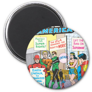 Justice League of America Issue #28 - June Magnet
