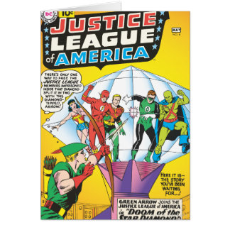 Justice League of America Issue #4 - May Greeting Card