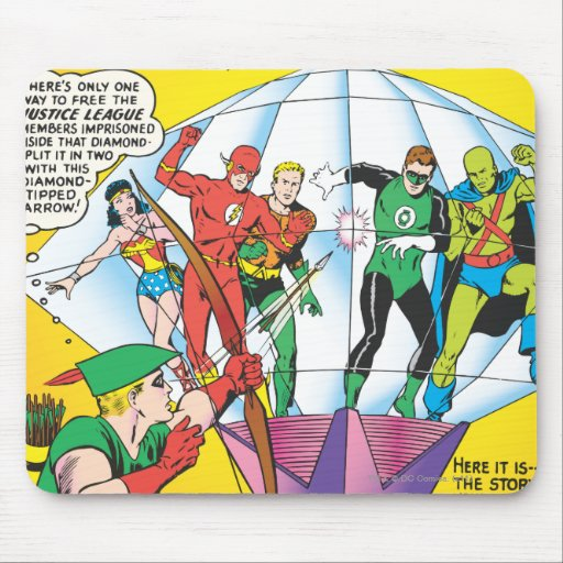 Justice League of America Issue #4 - May Mouse Pad
