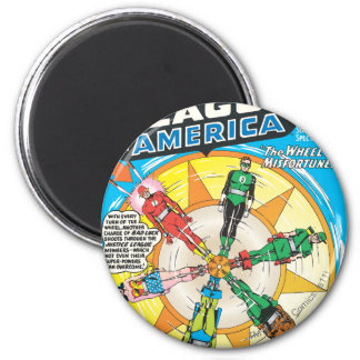 Justice League of America Issue #6 - Sept 6 Cm Round Magnet