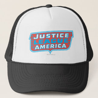 Justice League of America Logo Trucker Hat