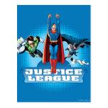 Justice League Power Trio Postcards