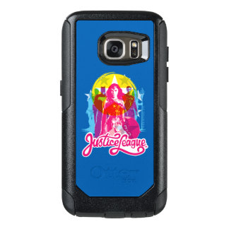 Justice League | Retro Group & Logo Pop Art OtterBox Samsung Galaxy S7 Case