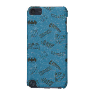 Justice League Rise Up Pattern iPod Touch (5th Generation) Cases