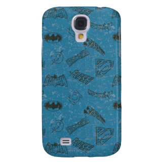 Justice League Rise Up Pern Galaxy S4 Case