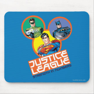 """Justice League """"Strength in Numbers"""" Mouse Pad"""