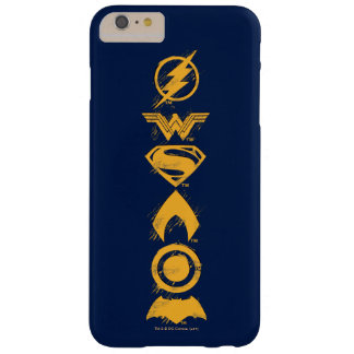 Justice League | Stylized Team Symbols Lineup Barely There iPhone 6 Plus Case