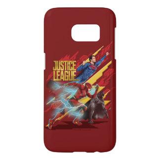 Justice League | Superman, Flash, & Batman Badge
