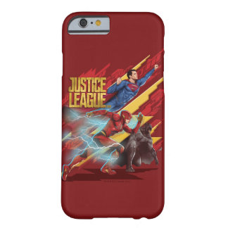 Justice League | Superman, Flash, & Batman Badge Barely There iPhone 6 Case