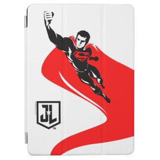 Justice League | Superman Flying Noir Pop Art iPad Air Cover
