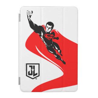 Justice League | Superman Flying Noir Pop Art iPad Mini Cover