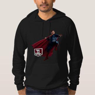 Justice League   Superman On Battlefield Hoodie