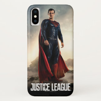 Justice League | Superman On Battlefield iPhone X Case