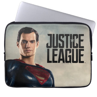 Justice League | Superman On Battlefield Laptop Sleeve