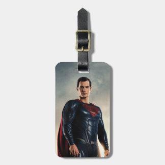 Justice League | Superman On Battlefield Luggage Tag