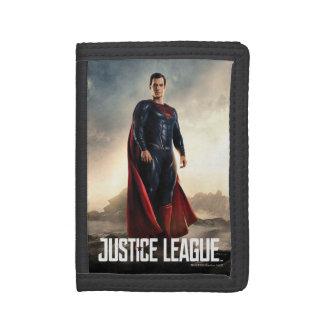 Justice League | Superman On Battlefield Trifold Wallets