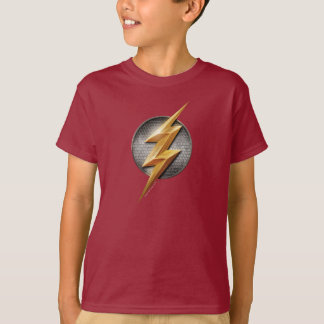 Justice League | The Flash Metallic Bolt Symbol T-Shirt