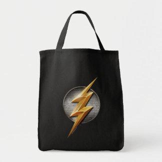 Justice League | The Flash Metallic Bolt Symbol Tote Bag