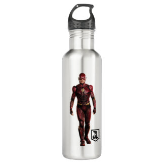 Justice League | The Flash On Battlefield 710 Ml Water Bottle