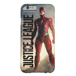 Justice League | The Flash On Battlefield Barely There iPhone 6 Case