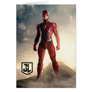 Justice League | The Flash On Battlefield Card
