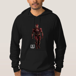 Justice League   The Flash On Battlefield Hoodie