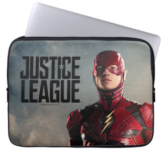 Justice League | The Flash On Battlefield Laptop Sleeve