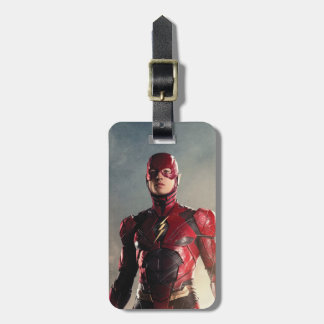 Justice League | The Flash On Battlefield Luggage Tag
