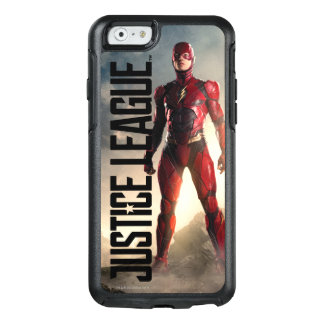 Justice League | The Flash On Battlefield OtterBox iPhone 6/6s Case