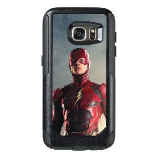 Justice League | The Flash On Battlefield OtterBox Samsung Galaxy S7 Case