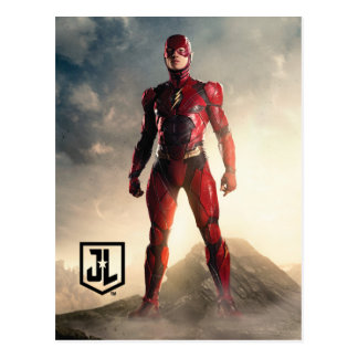 Justice League | The Flash On Battlefield Postcard