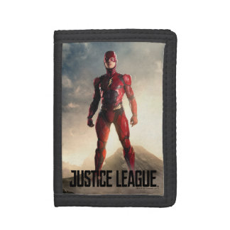 Justice League | The Flash On Battlefield Trifold Wallet