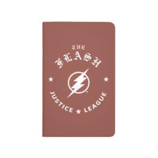 Justice League | The Flash Retro Lightning Emblem Journal
