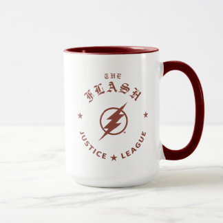 Justice League | The Flash Retro Lightning Emblem Mug