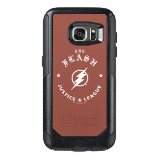 Justice League | The Flash Retro Lightning Emblem OtterBox Samsung Galaxy S7 Case