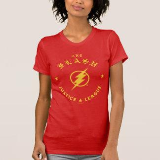 Justice League | The Flash Retro Lightning Emblem T-Shirt