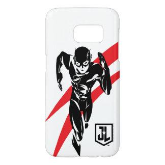 Justice League | The Flash Running Noir Pop Art