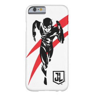 Justice League | The Flash Running Noir Pop Art Barely There iPhone 6 Case