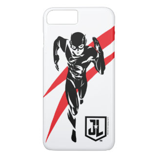 Justice League | The Flash Running Noir Pop Art iPhone 8 Plus/7 Plus Case