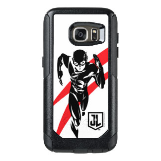 Justice League | The Flash Running Noir Pop Art OtterBox Samsung Galaxy S7 Case