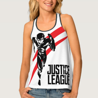 Justice League | The Flash Running Noir Pop Art Tank Top