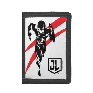 Justice League | The Flash Running Noir Pop Art Tri-fold Wallet