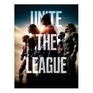 Justice League | Unite The League Postcard