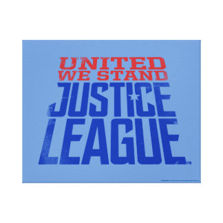Justice League | United We Stand Graphic Canvas Print